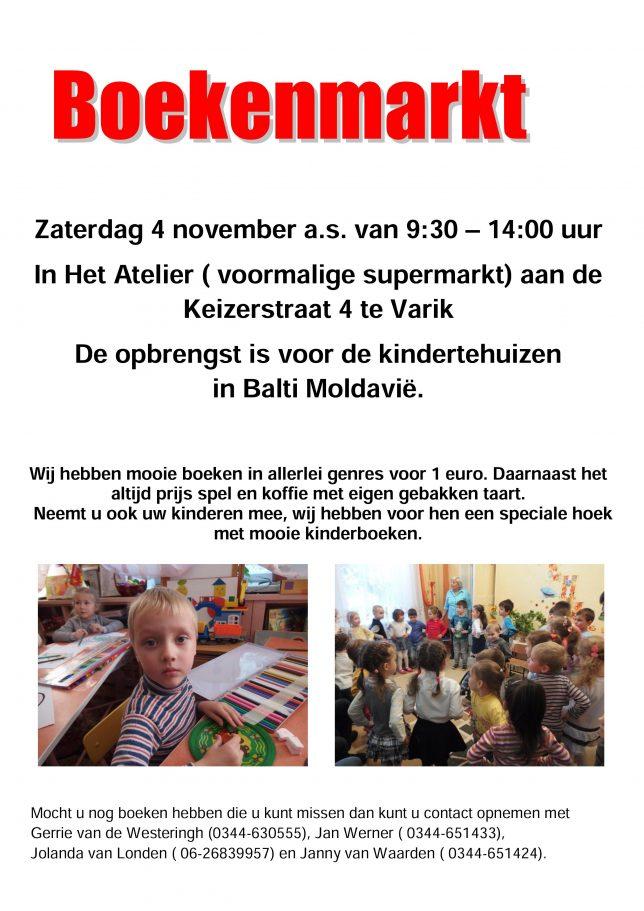 Boekenmarkt 4-11-2017