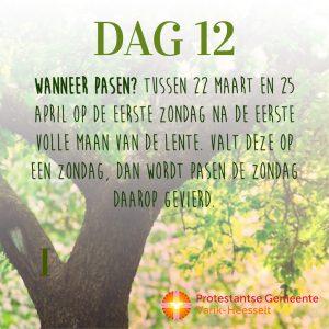 Paaskalender – Dag 12