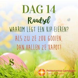 Paaskalender – Dag 14