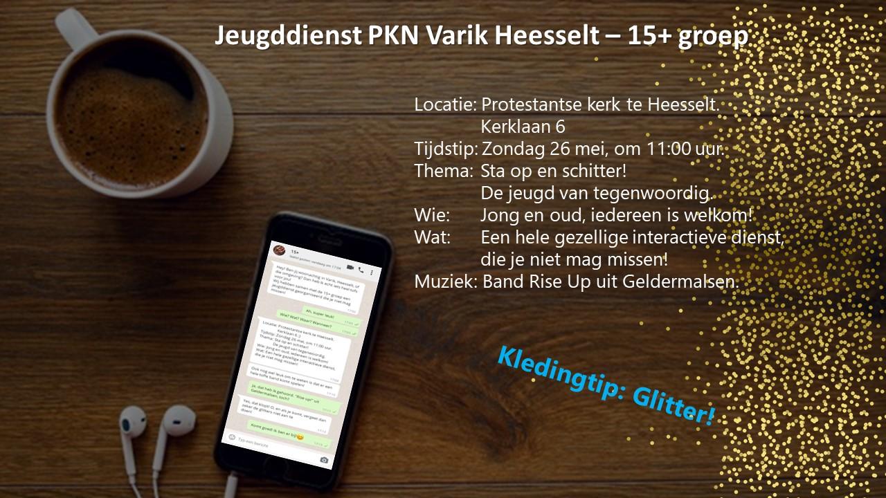 Kerkdienst 26-05-2019 @ Kerk Heesselt