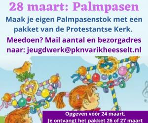 Palmpasen 2021